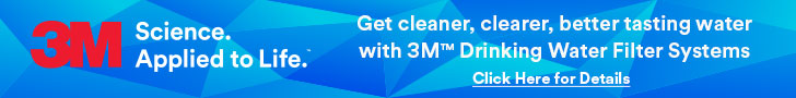 Get cleaner, clearer, better tasting water with 3M Drinking Water Filter Systems
